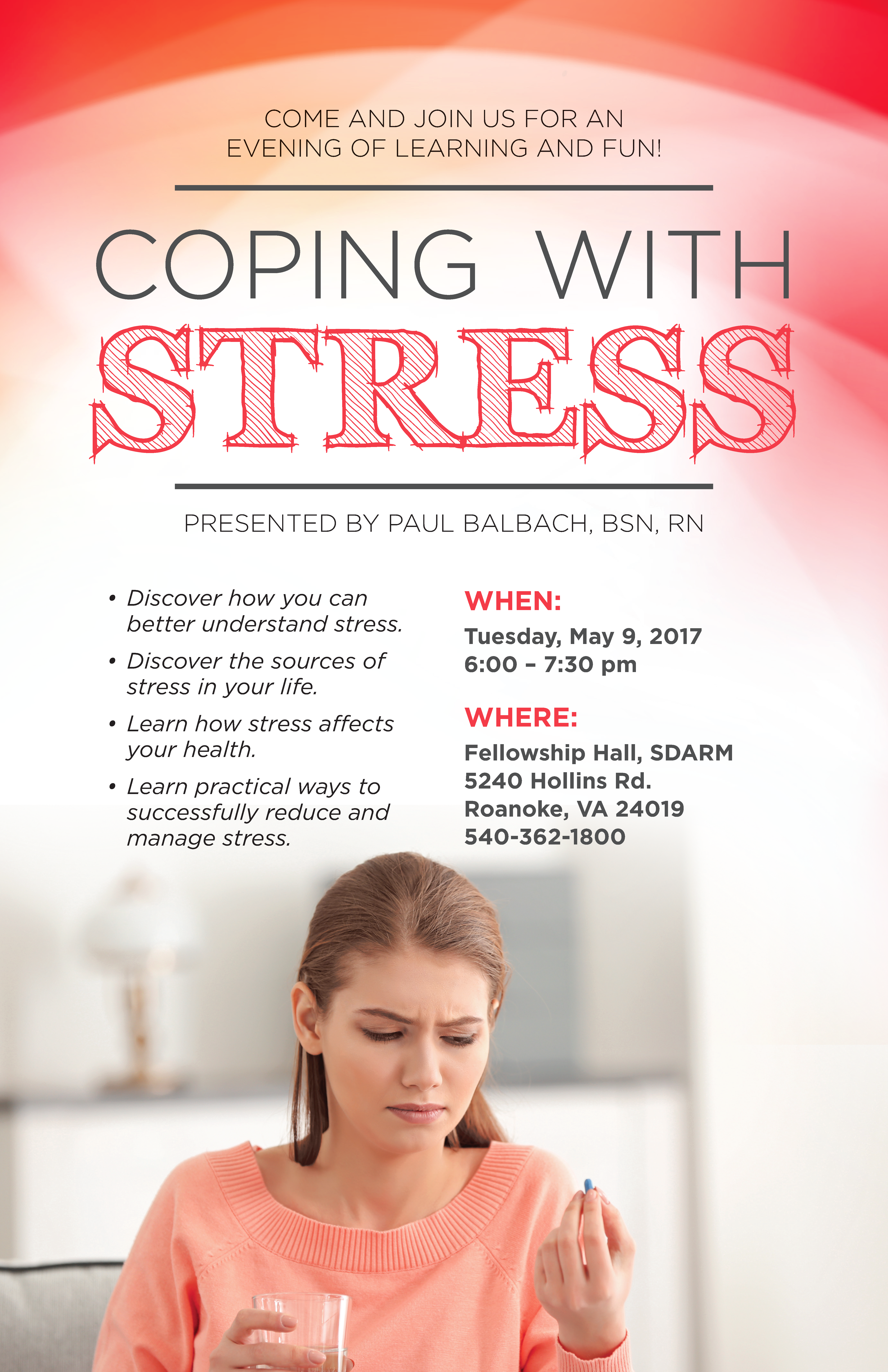Coping With Stress @ Hollins | Virginia | United States